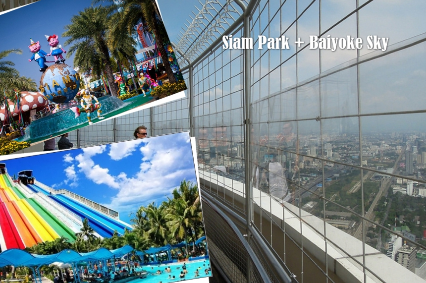 Siam Park and dinner at the Sky Bayok