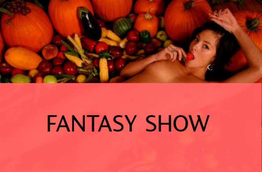 Fantasy sex show with Russian models