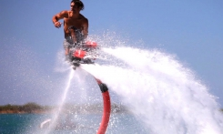 Read more Flyboard Flyboard - board flying over water